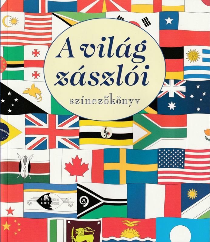 A világ zászlói színezőkönyv