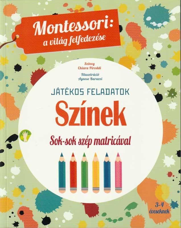 Montessori a világ felfedezése: Színek