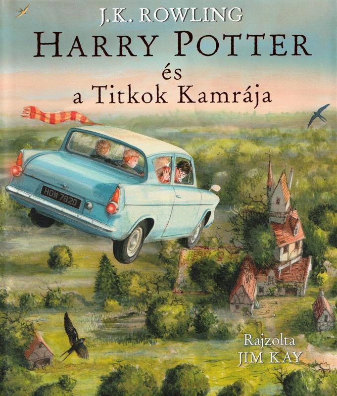 Harry Potter és a titkok kamrája – illusztrált kiadás