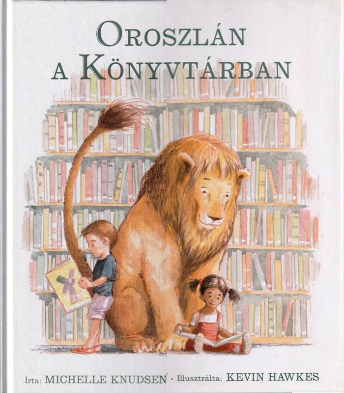 Oroszlán a könyvtárban