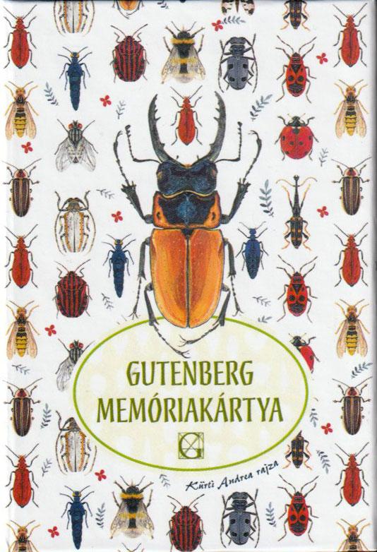 Gutenberg memóriakártya bogarak
