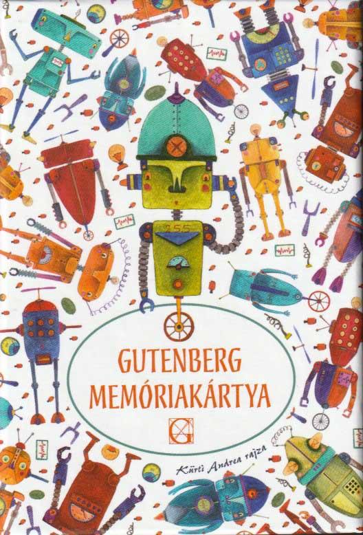 Gutenberg memóriakártya robotok
