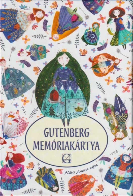 Gutenberg memóriakártya királylányos