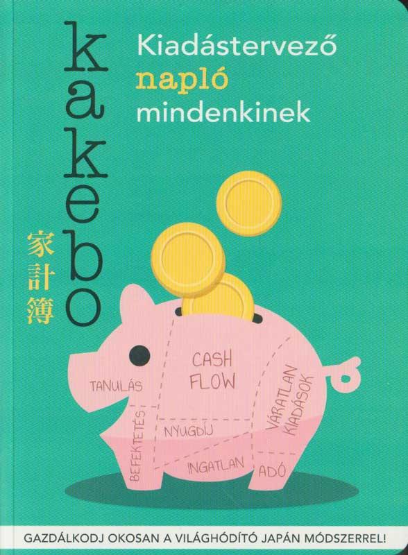 Kakebo kiadástervező napló mindenkinek