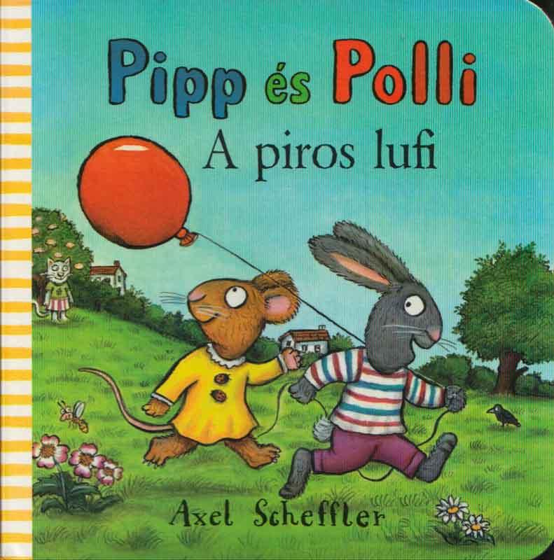 Pipp és Polli – A piros lufi  – Lapozó
