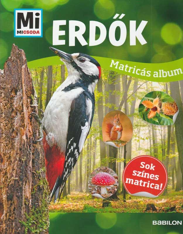 Matricás album – Erdők – Mi Micsoda