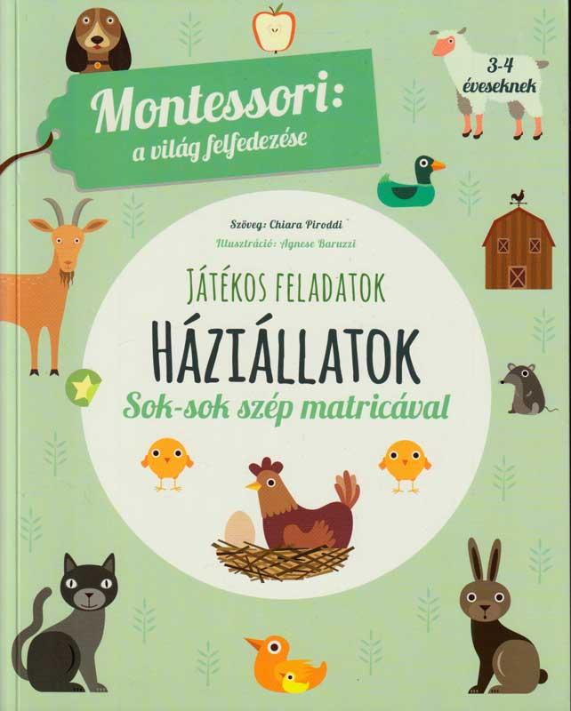 Montessori a világ felfedezése: Háziállatok