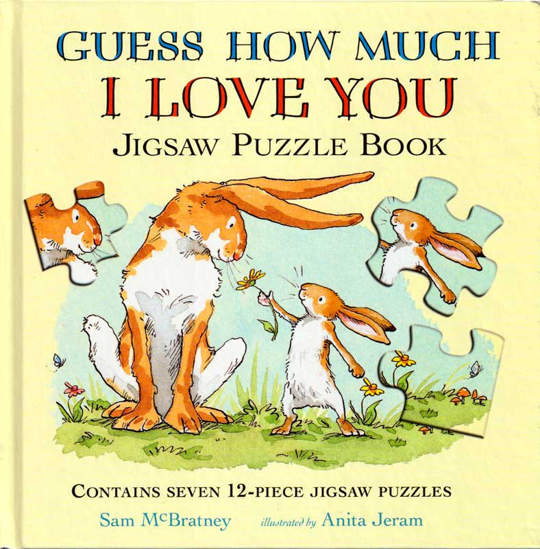 Guess How Much I Love You – Jigsaw Puzzle Book