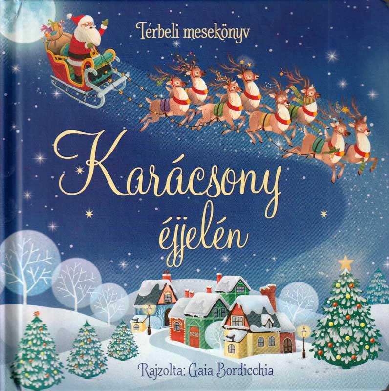 Karácsony éjjelén – térbeli mesekönyv