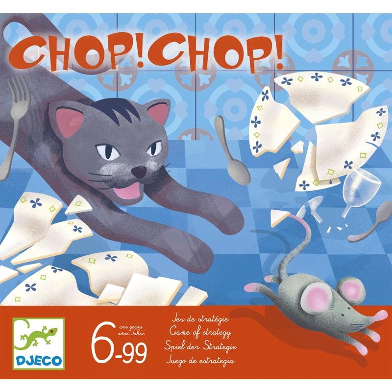 Chop! Chop! – Macska-egér társasjáték