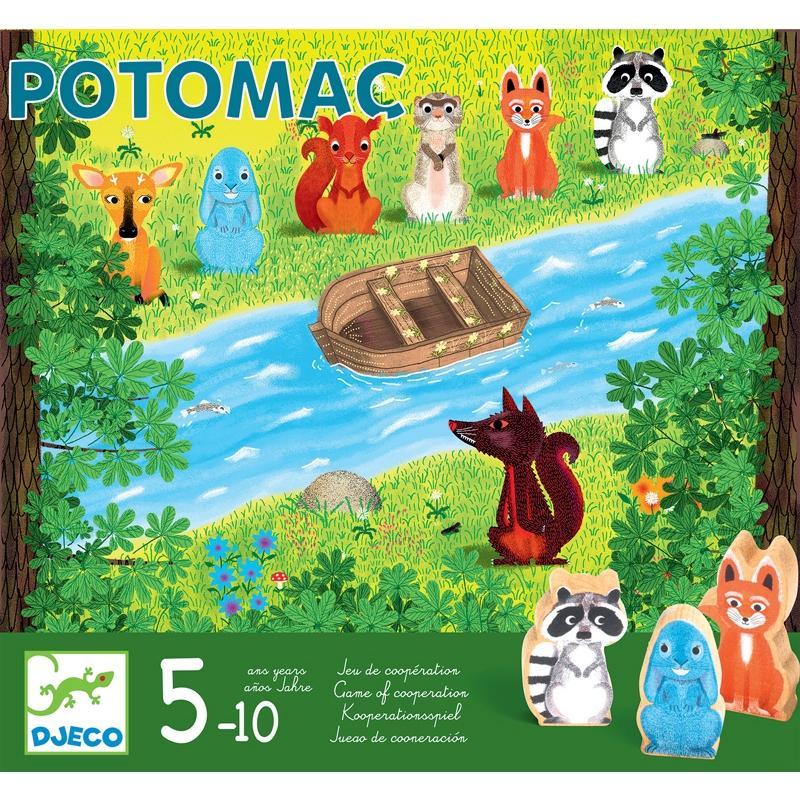 Potomac – kooperatív társasjáték