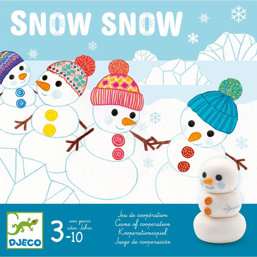 Snow Snow – HÓ – kooperatív társasjáték