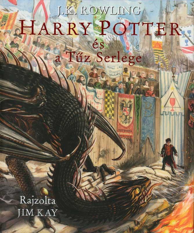 Harry Potter és a tűz serlege – illusztrált kiadás
