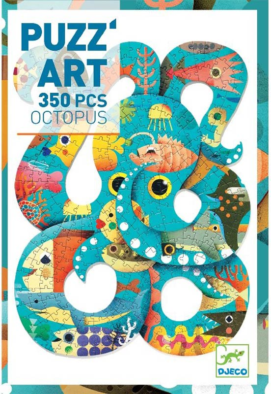 Művész puzzle – Polip, 350 db-os