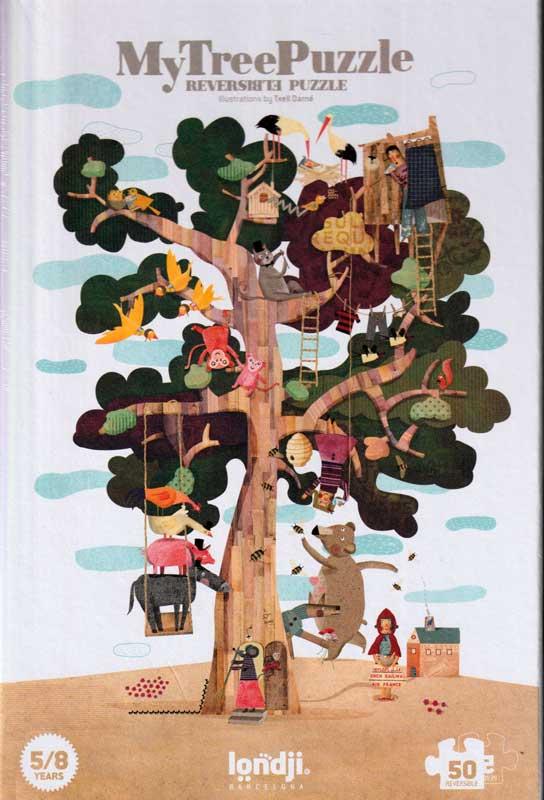 My tree puzzle – Az én fám – kétoldalas kirakójáték – Londji
