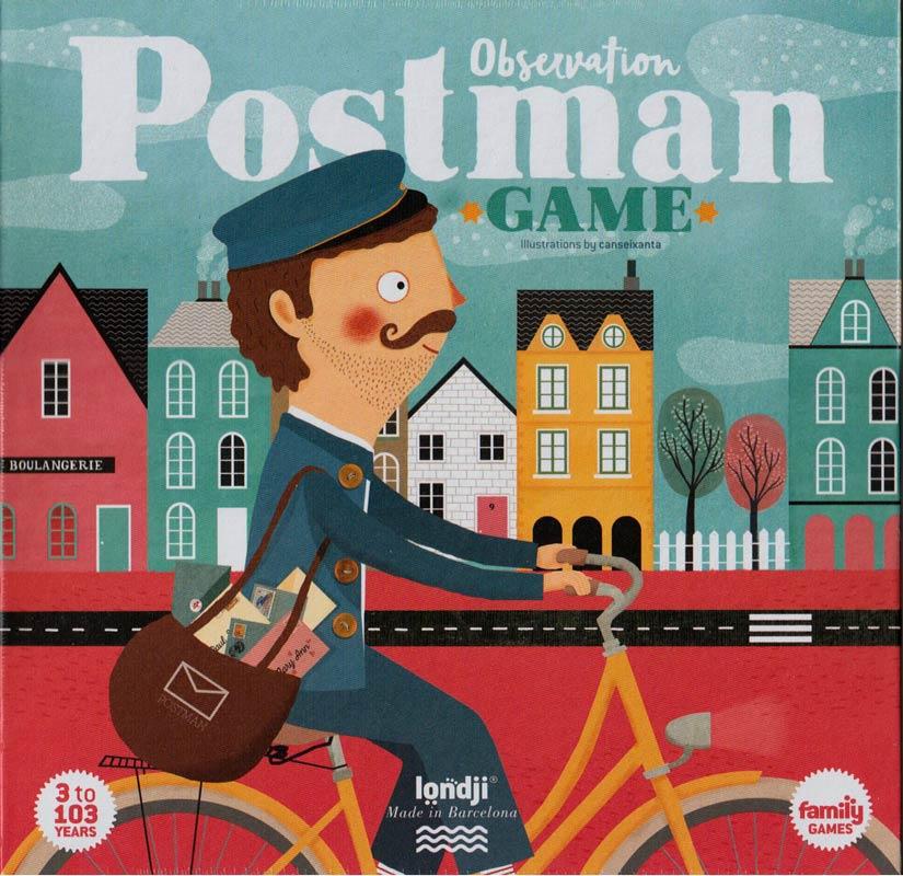 Postás játék – Családi társas – Londji