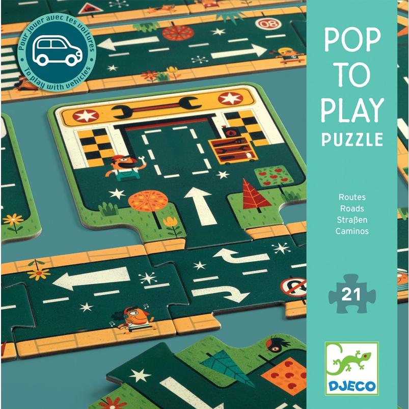 Utak – Óriás puzzle – 21 db-os – Djeco