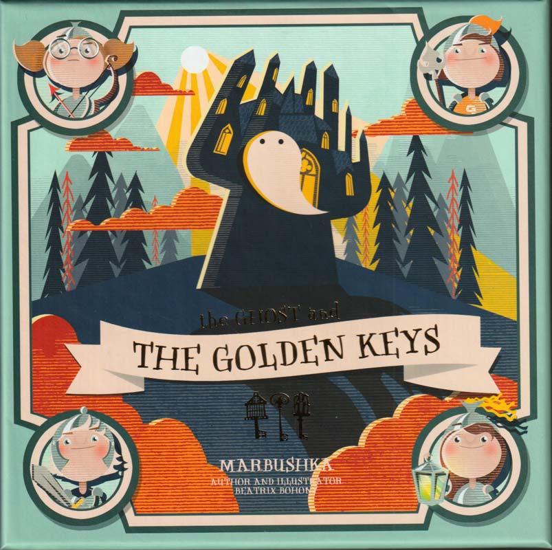 A szellem és az arany kulcsok – kooperatív társasjáték – Marbushka