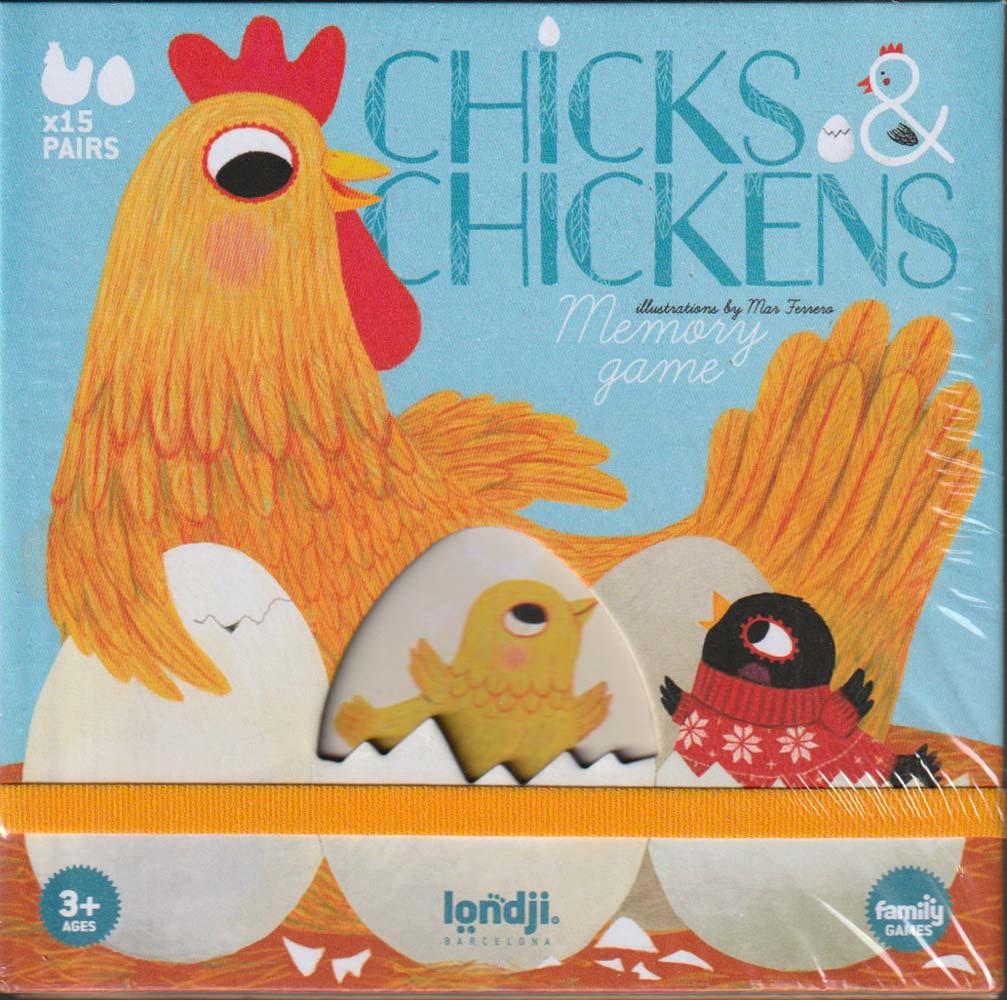 Tyúkok és csibéik – Chick & Chickens memóriajáték – Londji