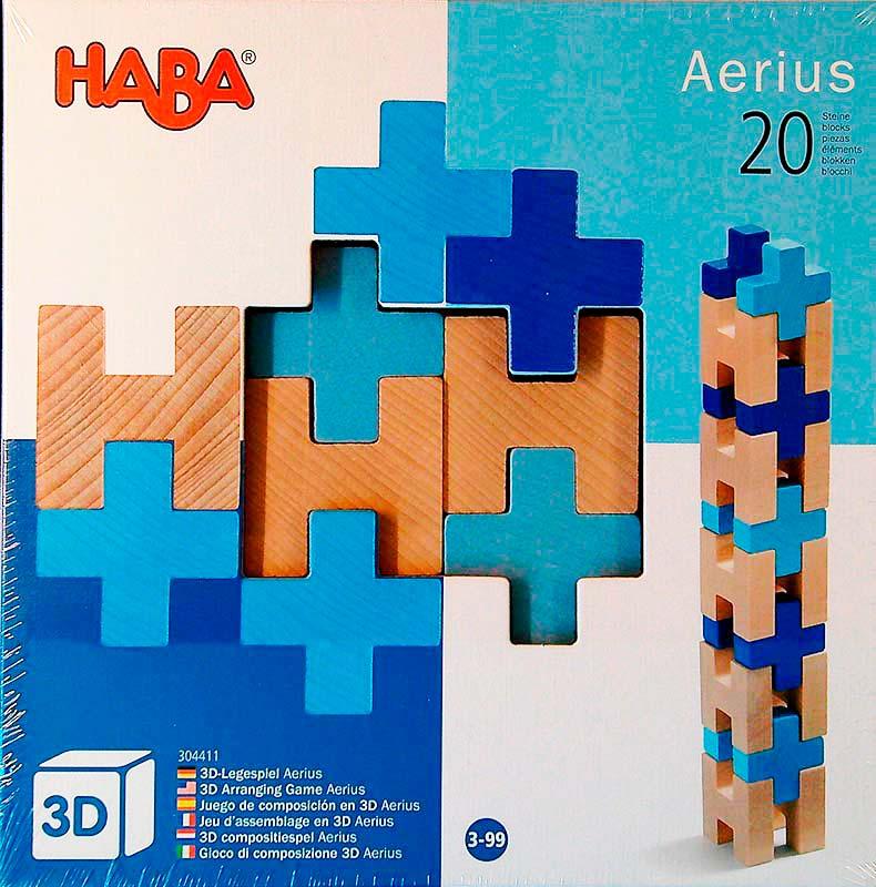 Haba Aerius – 20 db-os fa építőjáték