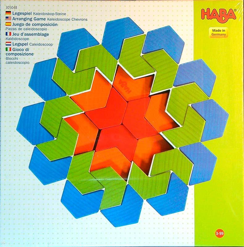 Haba kirakósjáték – Kaleidoszkóp – 42 db-os készlet