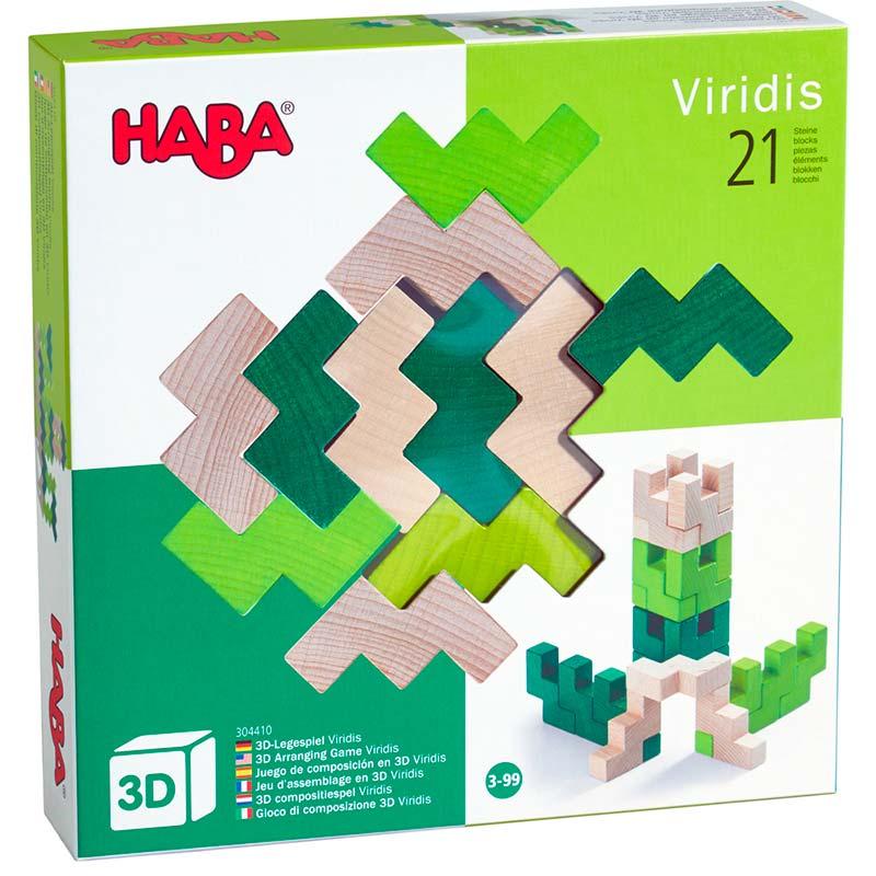 Haba Viridis – 21 db-os fa építőjáték