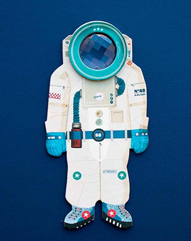Űrhajós – optikai játék – Londji