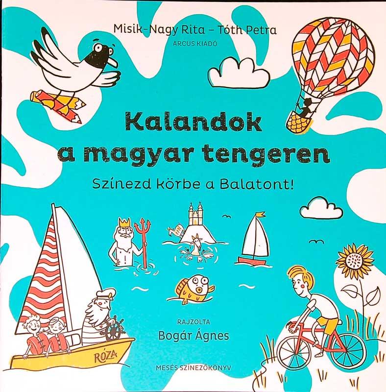 Kalandok a magyar tengeren – Színezd körbe a Balatont!