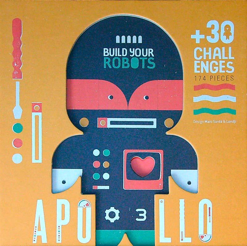 Apollo – Építsd meg a robotod! – Londji játék